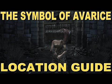 DARK SOULS 3 - HOW TO GET THE SYMBOL OF AVARICE