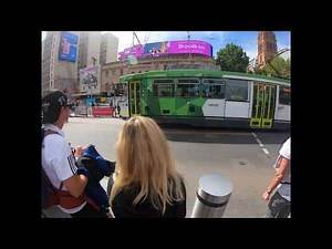 ⁴ᴷ⁶⁰ WALK WITH ME MELBOURNE TIMELAPSE : City Walk Timelapse In Busy Melbourne