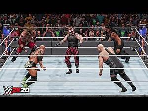 WWE 2K20 Top 10 Epic Finishers Combinations!