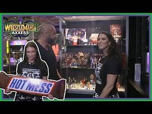 WWE Wrestlemania 34 Axxess 2018 | Things I Learnt From The Triple H & Stephanie McMahon Walk Around