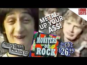 Top 10 Most Nostalgic Metal Moments