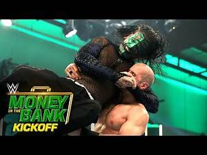 Jeff Hardy fights through the pain against Cesaro: WWE Money in the Bank 2020 Kickoff
