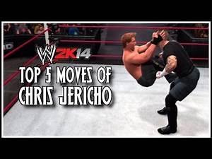 WWE 2K14 - Top 5 Moves Of Chris Jericho! (WWE 2K14 Countdown)