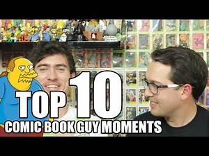 Top 10 Comic Book Guy Moments // Four Finger Discount
