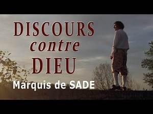 DISCOURS contre DIEU - Marquis de SADE