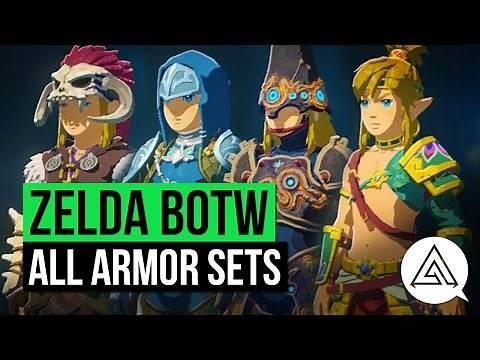 Zelda Breath of the Wild   All Armor Sets & Where to Get Them