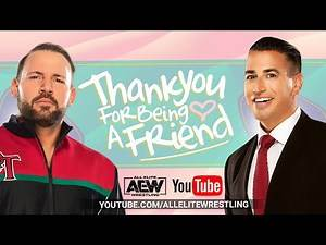 JUSTIN ROBERTS' THANK YOU FOR BEING A FRIEND W/ QT MARSHALL