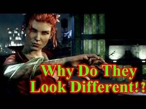 Batman Arkham Knight - Why Do They Look Different????