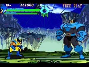 x-men vs street fighter :: wolverine and akuma (part 2)