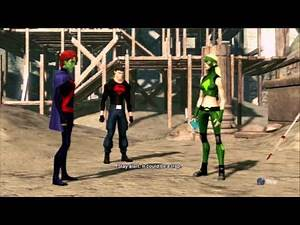 "Bourbonjimbo Plays Young Justice: Legacy Pt. 2 ""Superboy!"" PS3 Gameplay with Commentary"