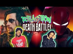 Winter Soldier VS Red Hood (Marvel VS DC) | DEATH BATTLE! [REACTION]