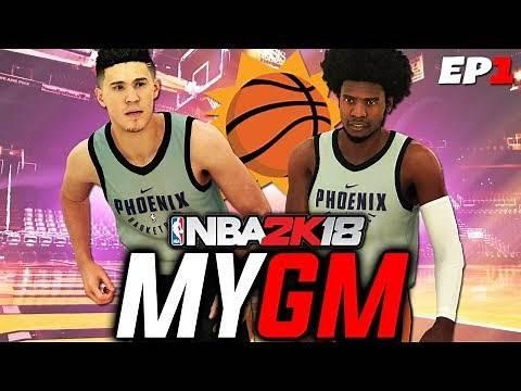 NBA 2K18 MyGM EP 1   Phoenix Suns   Trading Bledsoe + Rebuilding a Dynasty!