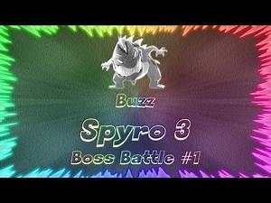 Spyro 3 Year of the Dragon ★ Perfect Boss Battle #1 • Buzz