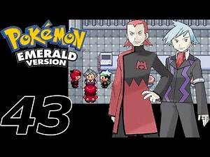 Pokémon Emerald - Episode 43: Showdown at the Mossdeep Space Center