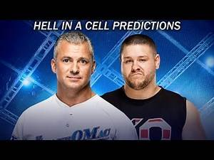 WWE Hell In A Cell 2017 Predictions!