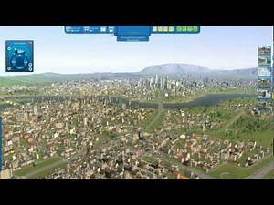 CITIES XL 2012 Gameplay 1.2Million population (No Mod,Raw game)