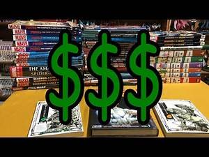 How to sell your comic collected editions (graphic novels)!