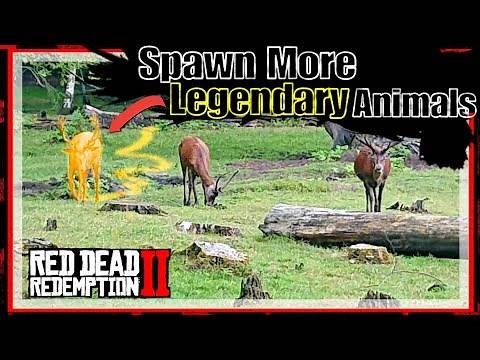 How To Get More Legendary Animals To Spawn RDR2 ONLINE | RED DEAD ONLINE | RDO