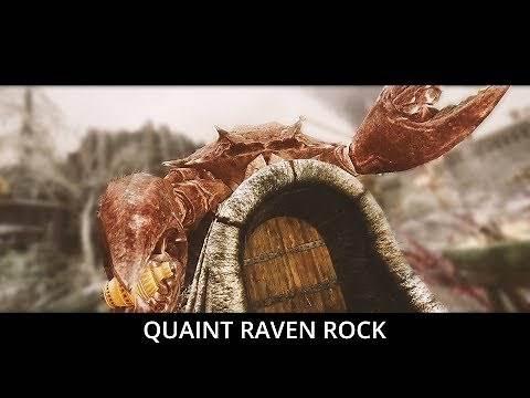 Best Raven Rock Overhaul Ever? Skyrim Mods - Quaint Raven Rock (LE, SE)