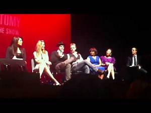 Grey's Anatomy Benefit Concert - Question&Answers - part 2 (March 18,2012)