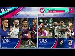 FIFA 14 MOD FIFA 19 NEW UPDATE TRANSFERS WINTER 2019 BEST GRAPHICS NEW FACE & HAIR NEW SQUAD 1GB