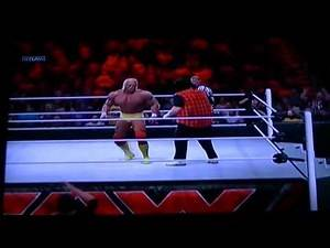 wwe 2k14 mick foley vs hulk hogan