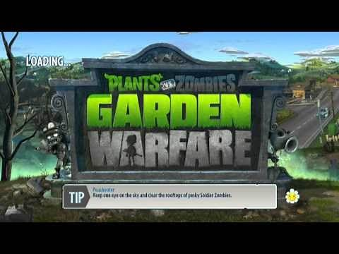 Plants vs Zombies Garden Warfare Xbox One Offline Co-op #1