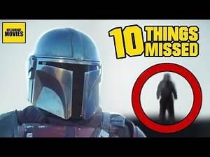 Star Wars: The Mandalorian Trailer Breakdown - Things Missed & Easter Eggs