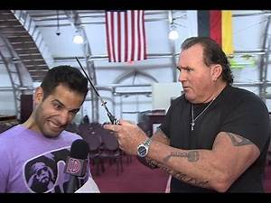 """Brutus """"The Barber"""" Beefcake cuts reporter's hair, his best and worst gimmicks, life after WWE, more"""