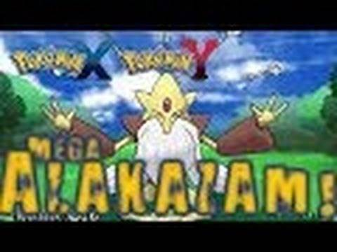 Pokemon X and Y - All Mega Evolutions and How to Get them!