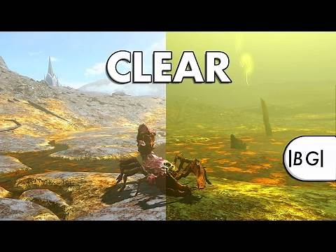 Fallout 4 | Clear Weather in the Glowing Sea? Weather Console Commands & Landscape Cinematics!
