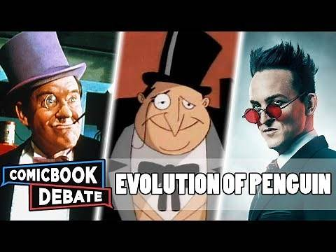Evolution of the Penguin in Cartoons, Movies & TV in 25 Minutes (2019)