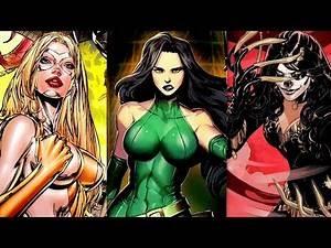 Top 15 Most Dangerous Female Super Villains