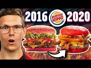 Recreating Burger King's Discontinued Angriest Whopper