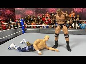 CODY VS RANDY ORTON TEST (WWE FIGURES PIC FED VS WWE ACTION FIGURE MATCH STYLE)