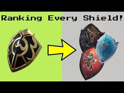 Ranking EVERY SHIELD In Fortnite! (Back bling) (Updated)