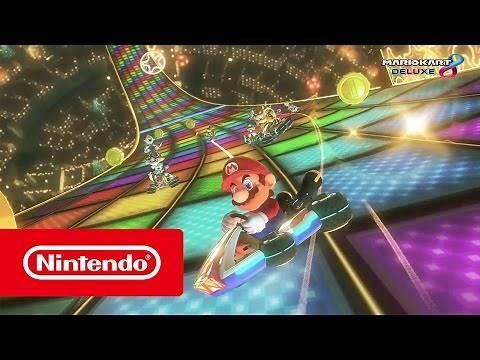 Mario Kart 8 Deluxe - The biggest Mario Kart game yet! (Nintendo Switch)