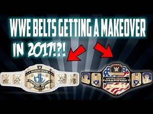 WWE Getting New United States & Intercontinental Title Belts?!