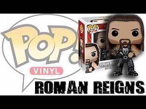 WWE FIGURE INSIDER: Roman Regins - Pop WWE Vinyl WWE Toy Wrestling Action Figure By Funko