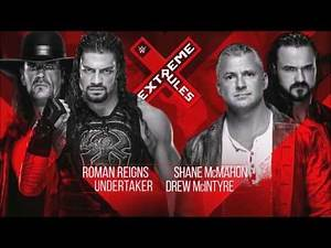 WWE Extreme Rules 2019 Full Official Match Card