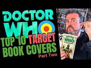 The Top 10 covers in my DOCTOR WHO Target book collection (PART TWO, from 5 to 1) - Tell Me Yours!