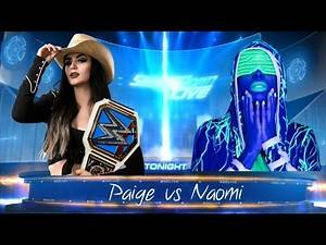 WWE 2K17 SMACKDOWN LIVE PAIGE CELEBRATION & FACE TO FACE WITH NAOMI