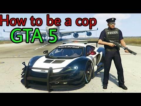 GTA 5| How to become a cop (No Mods)
