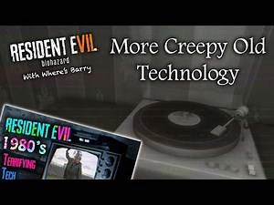 RESIDENT EVIL 7 LOVES THE 80's! | COMPUTERS & RECORDS? | RE7 Theories & Technology