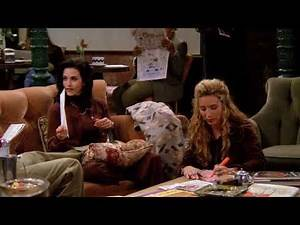 Ross,Chandler,Joey,Monica,Rachel,Phoebe Sing Along Together | Friends