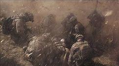 War Sounds - Rain, Thunder, City Battle & Radio Chatter Mix - 1 hour