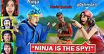 PLAYING AMONG US IN FORTNITE! ft. Ninja, David Dobrik, NICKMERCS, Sarah Silverman & more!