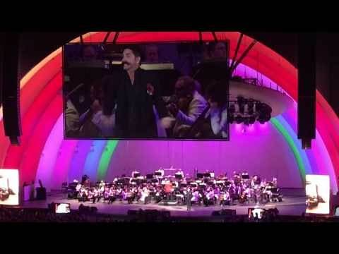 "John Stamos as Chef Louie ""Les Poissons"" - Little Mermaid Hollywood Bowl concert 2016"