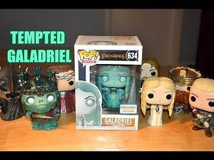 Funko Pop TEMPTED GALADRIEL LORD OF THE RINGS Barnes and Noble Exclusive unboxing & review! LOTR