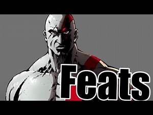 (CHECK NEW VIDEO) ~~~~ Kratos Feats | How Strong is Kratos | Feat Run